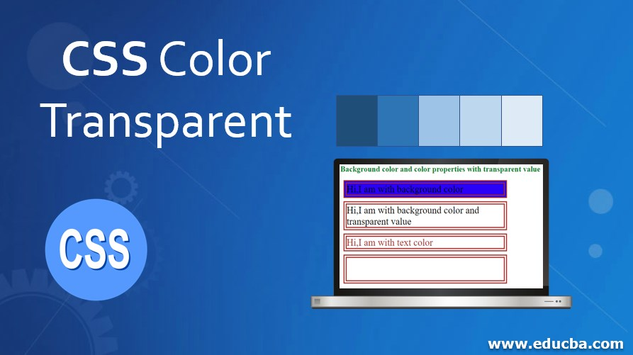 CSS Color Transparent