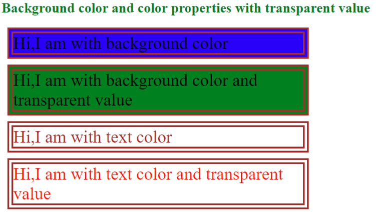 CSS Color transparent -example 1