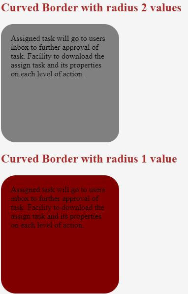 CSS Curved Border 1-2