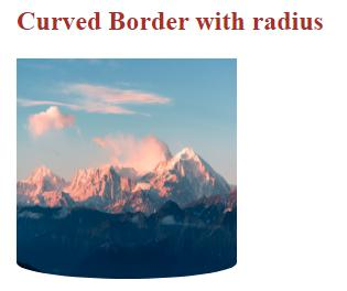 CSS Curved Border 1-5