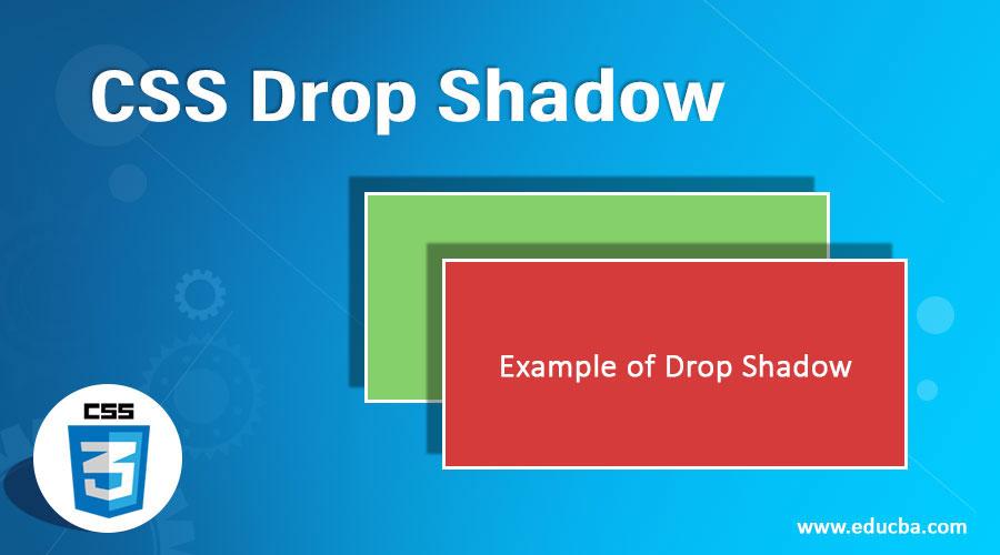 CSS-Drop-Shadow