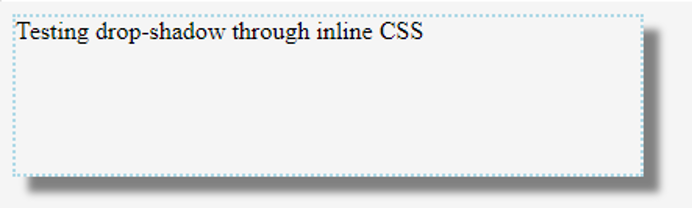 CSS Drop Shadow 3