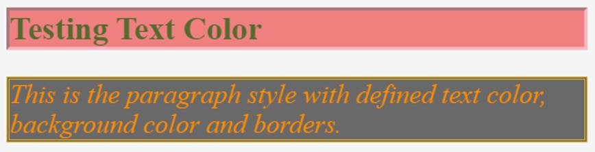 CSS Font Color-1.2