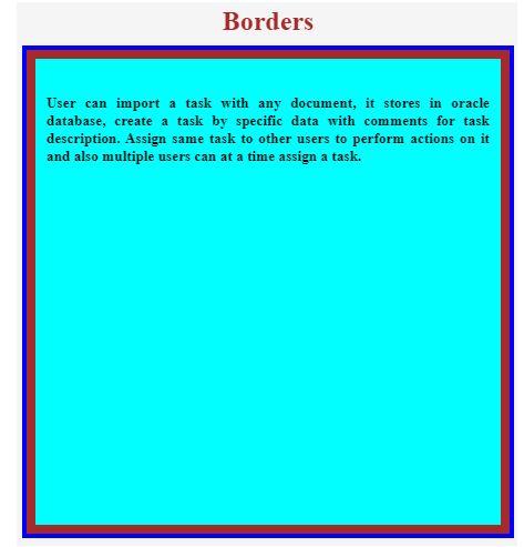 CSS Multiple Borders 1