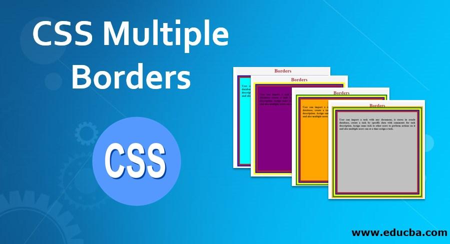 CSS Multiple Borders