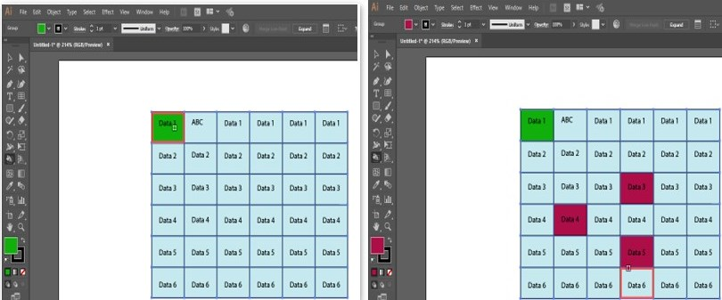 Create Table in Illustrator - 37