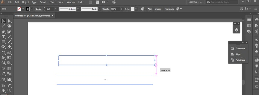 Create Table in Illustrator - 6