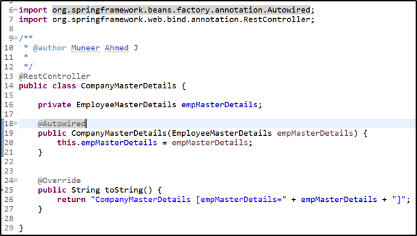 Dependency Injection - Dependency Injection - Constructor Based 2