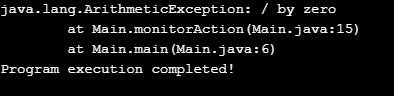 Exception Handling in Java 1-3