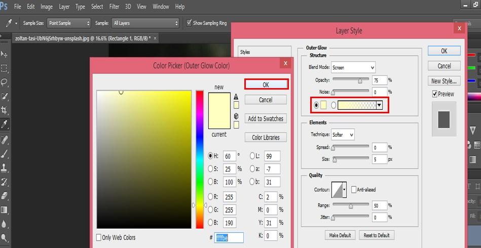 Glow Effects in Photoshop - 14