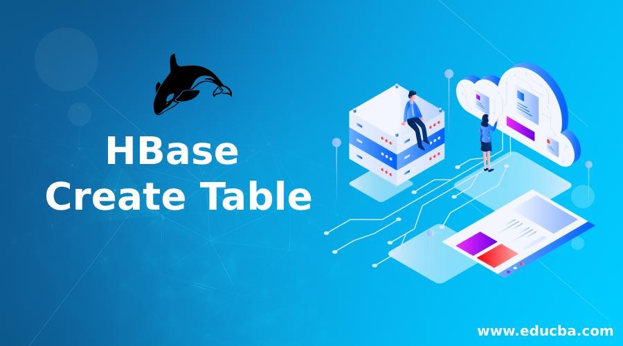 HBase Create Table