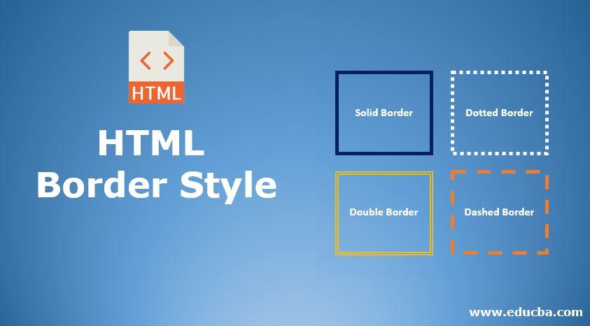 HTML Border Style