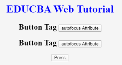 HTML Button Tag - 4