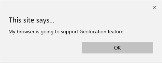 HTML Geolocation output 2