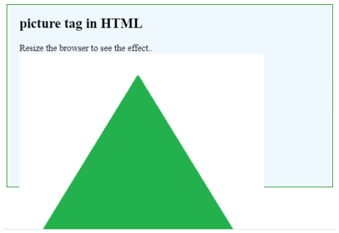 HTML Picture Tag Example 1.1