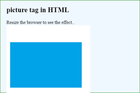 HTML Picture Tag Example 1.3