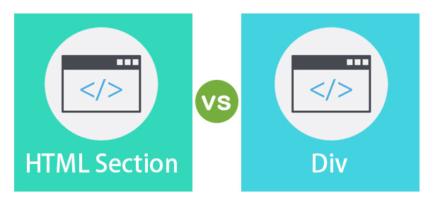 HTML Section vs Div