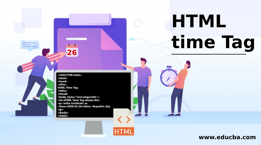HTML time Tag