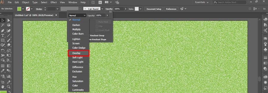 How to Add Texture in Illustrator -20
