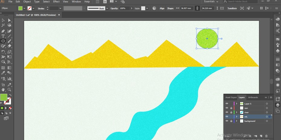 How to Add Texture in Illustrator -22