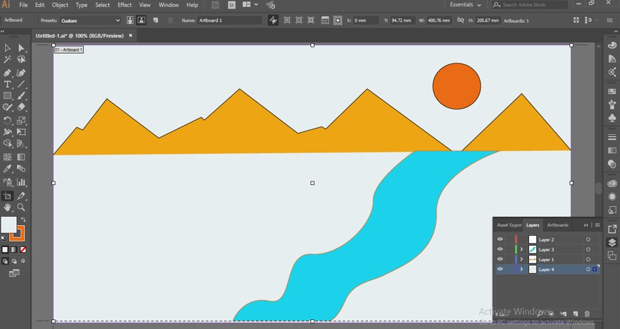 How to Add Texture in Illustrator - 3