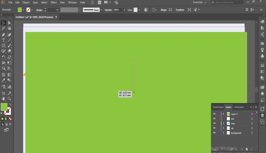 How to Add Texture in Illustrator - 8