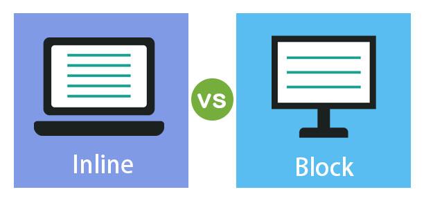 Inline vs Block