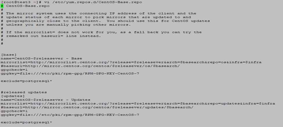 Install PostgreSQL - Exclude postgresql