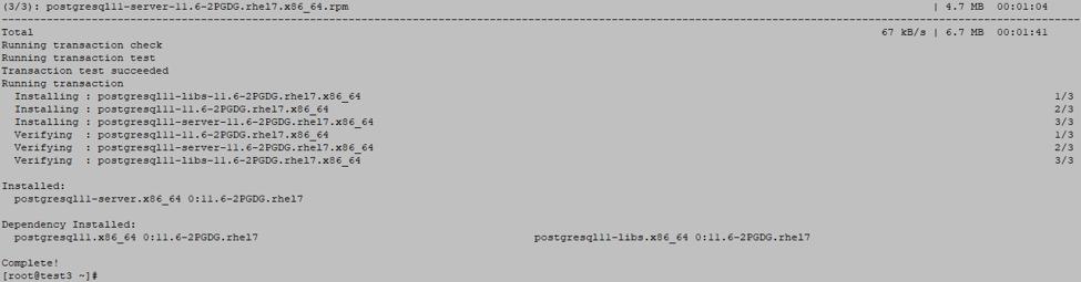 PostgreSQL DB server 2