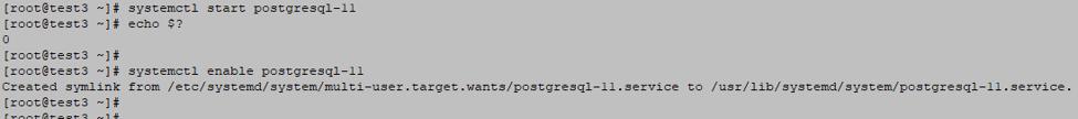 PostgreSQL service