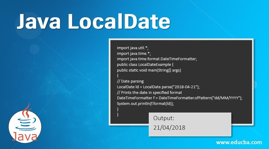 Java-LocalDate