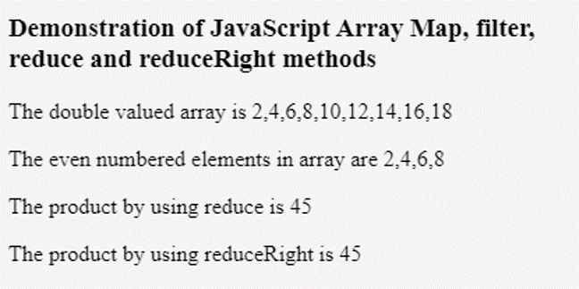 JavaScript Iterate Array-1.2
