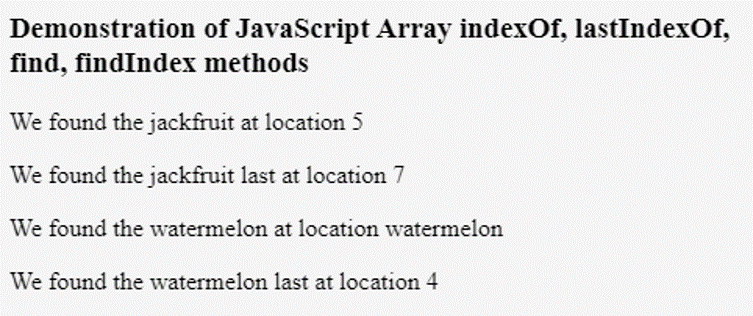 JavaScript Iterate Array-1.4