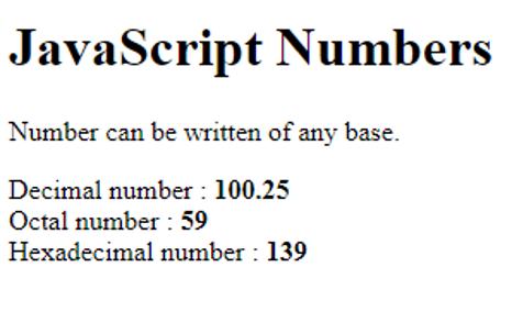JavaScript Literals-1.1
