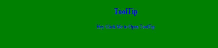 Javascript tooltip - Example1