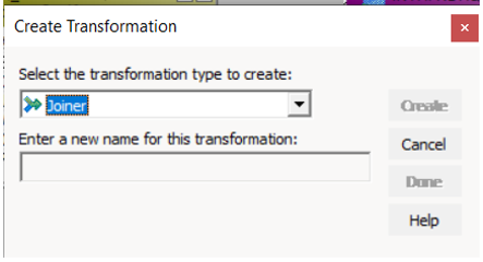 Joiner Transformation in Informatica 3