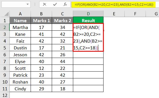 Complex Criteria in Combination 2-4