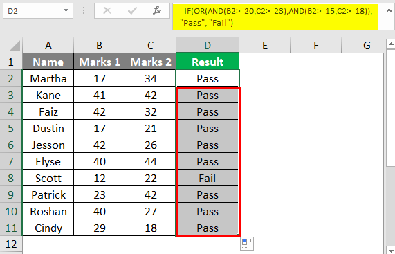 Complex Criteria in Combination 2-7