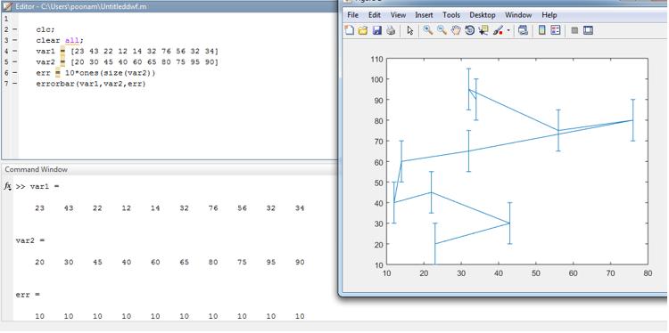 Matlab Errorbar output 2
