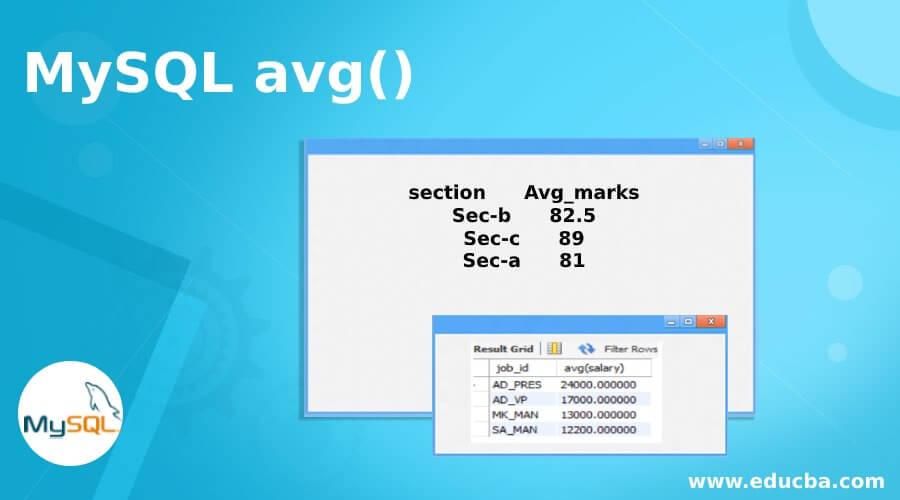 MySQL avg()
