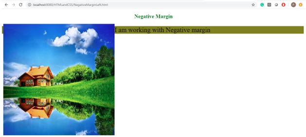 Negative margin in css 6