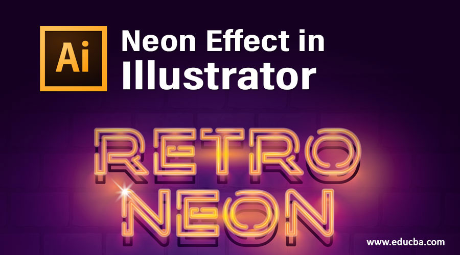 Neon Effect in Illustrator