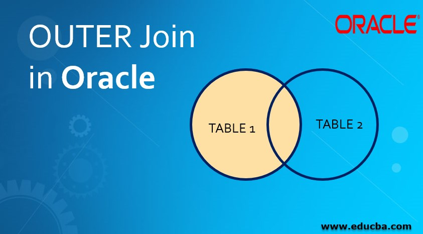 OUTER Join in Oracle