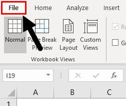 Open File menu