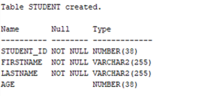 Oracle Constraints Example 1