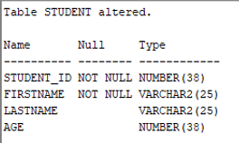 Oracle Constraints Example 2