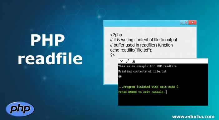 PHP readfile