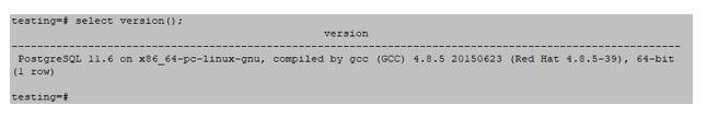 PostgreSQL 6