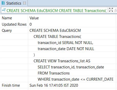 PostgreSQL Schema - 2
