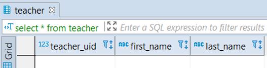 PostgreSQL Table - 8